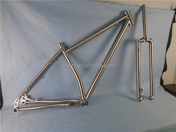 Newest design 26er mtb bike titanium frame with favorable price