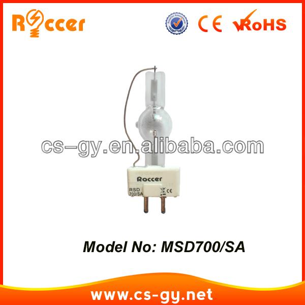 China Wholesale Gy 9.5 5600k Msr 700w Sa Lamp Bulb Light