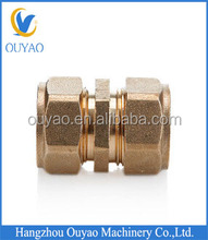 2014 new type PEX/AL/PEX composite pipe brass union,male/female brass union