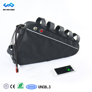 Powerful electric bike battery 48v 20ah triangle battery fit for 48v 1000w electric bike kit