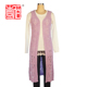alibaba crochet long cardigan knit sleeveless women vest jacket with low prices