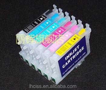 Empty T0481 T0486 Refillable Ink Cartridges For Epson Stylus Photo