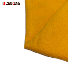 Great plains polyester cotton knit rib fabric for tshirt production with 230gsm