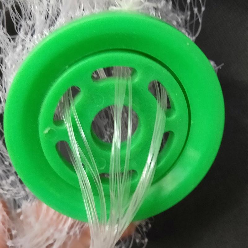 Environmentally cast net 6ft 3/8