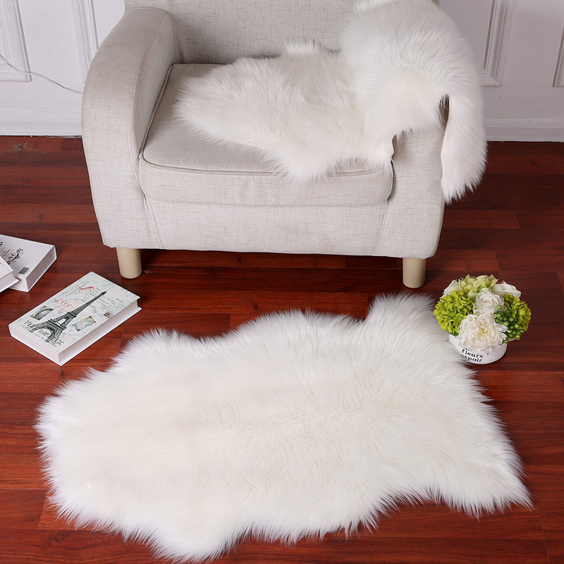 Dyed Rabbit Fur Plate For Garments Entertainment Memorabilia 100% Real Rabbit Fur Rug