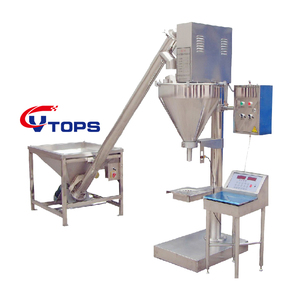 Semi Auto Flour Powder Filling Machine Hopper / Chill Powder Filling Machine China