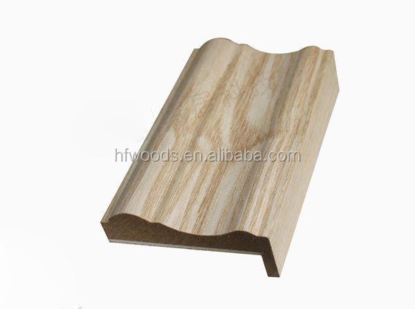 Moulures de bois mdf de moulage base de moulage pour porte for Moulure fenetre bois