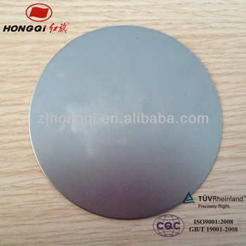steel rounds wafers circle plate cutting