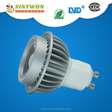 Cool White Dimmable 6W 15/24/35/45/60 Degree Bulb Gu10 Led Spot