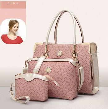 Alibaba online sales ODM OEM 3 in 1 inexpensive wholesale handbags purses  Discount designer handbags 09e4ce7e2d