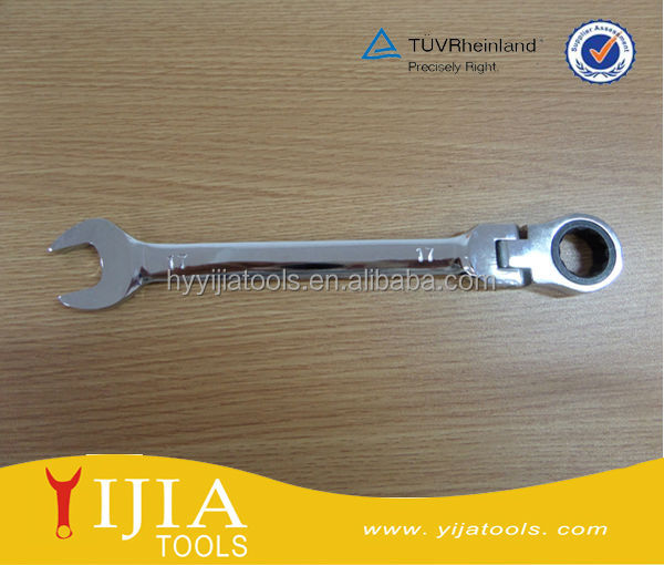 17mm single-end adjsutable socket spanner