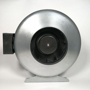 160mm 6 inch inline pipe exhaust fan for supplying fresh air
