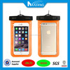 Hot selling mobile phone outdoor pvc eva tpu waterproof phone bag for iphone 6 plus