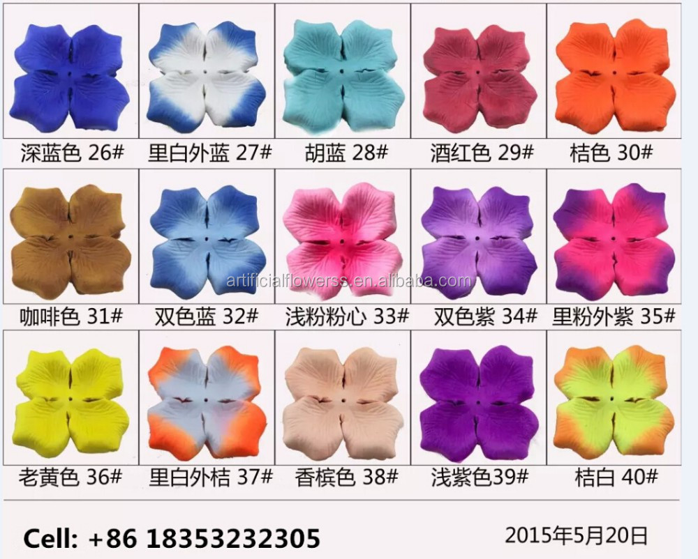 High Quality Flower Petals Decoration