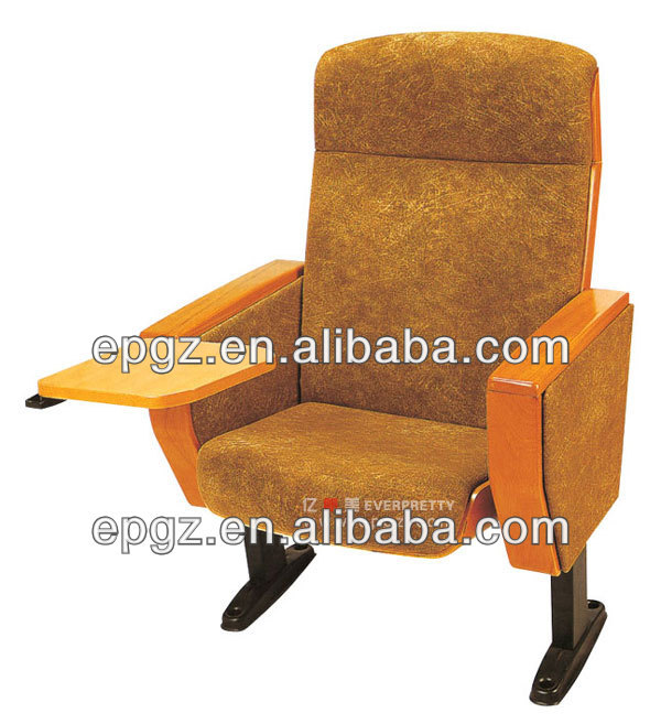 Supply red durable church pew chair/chairs price commercial