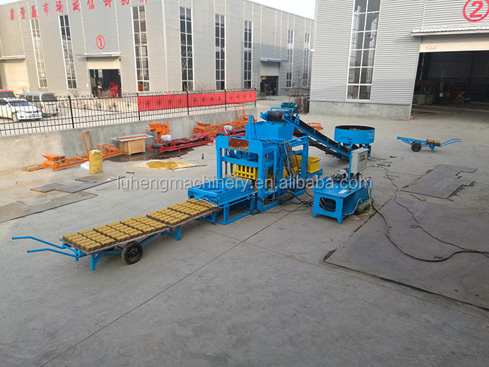 Block Making Brick paver concrete block machine