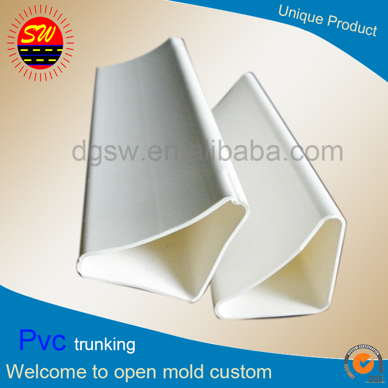 New Product Custom China Suppliers Triangular Pvc Pipe