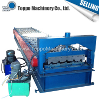Professional eco friendly ibr metal sheet roof panel roll forming machine