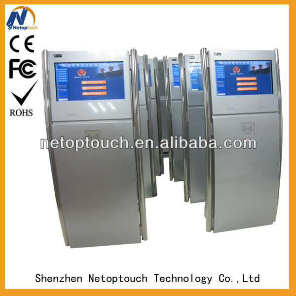 all in one touch panel kiosk