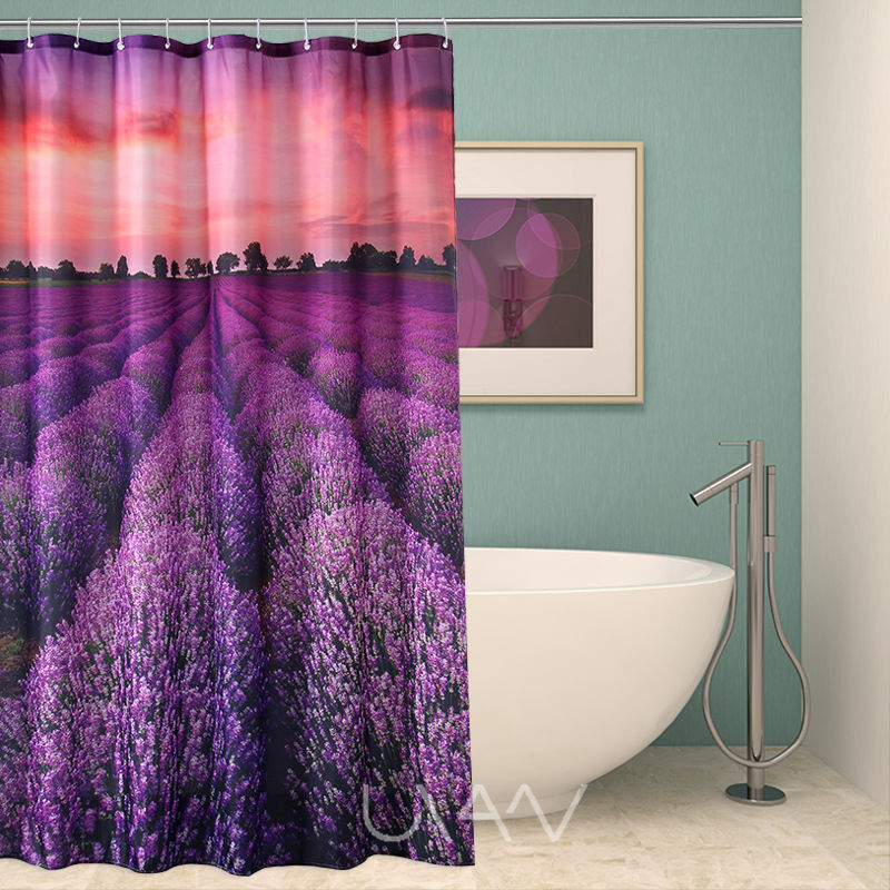 Lavender Shower Curtain Wholesale, Curtain Suppliers - Alibaba