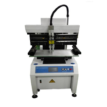 High Accuracy Semi-auto Solder Paste Screen Printing Stencil PCB Printer