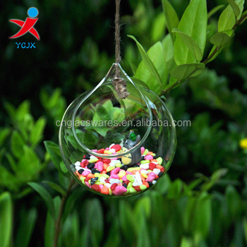 12cm Hanging Round Glass Ball Terrarium For Plant Buy Round Glass