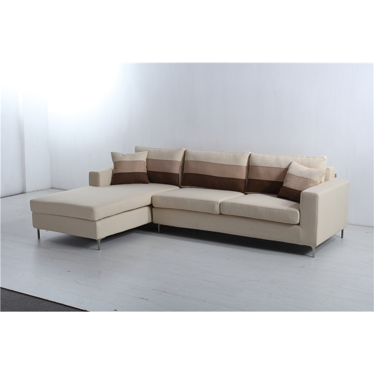 Sofa Living Room Furniture L Shape Modern Corner Fabric Sofa Designs