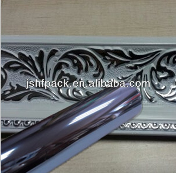 Double side Silver Hot Stamping Foils apply to furnitures