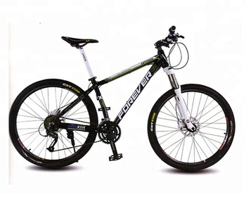 "27.5"" ALUMINUM BIKE MOUNTAIN BICYCLE 24 SPEED MTB BIKE FOREVER SFM750"