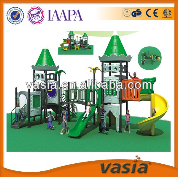 outdoor equipment castle theme