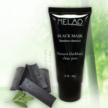 Hydrating Peel off black face mask Moisturizing hydrating oil-control bamboo black facial mask pore clean skin care