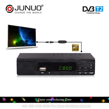 JUNUO 2017 good quality h.264/h 265 full hd strong tv decoder set top box dvb t2 Czech