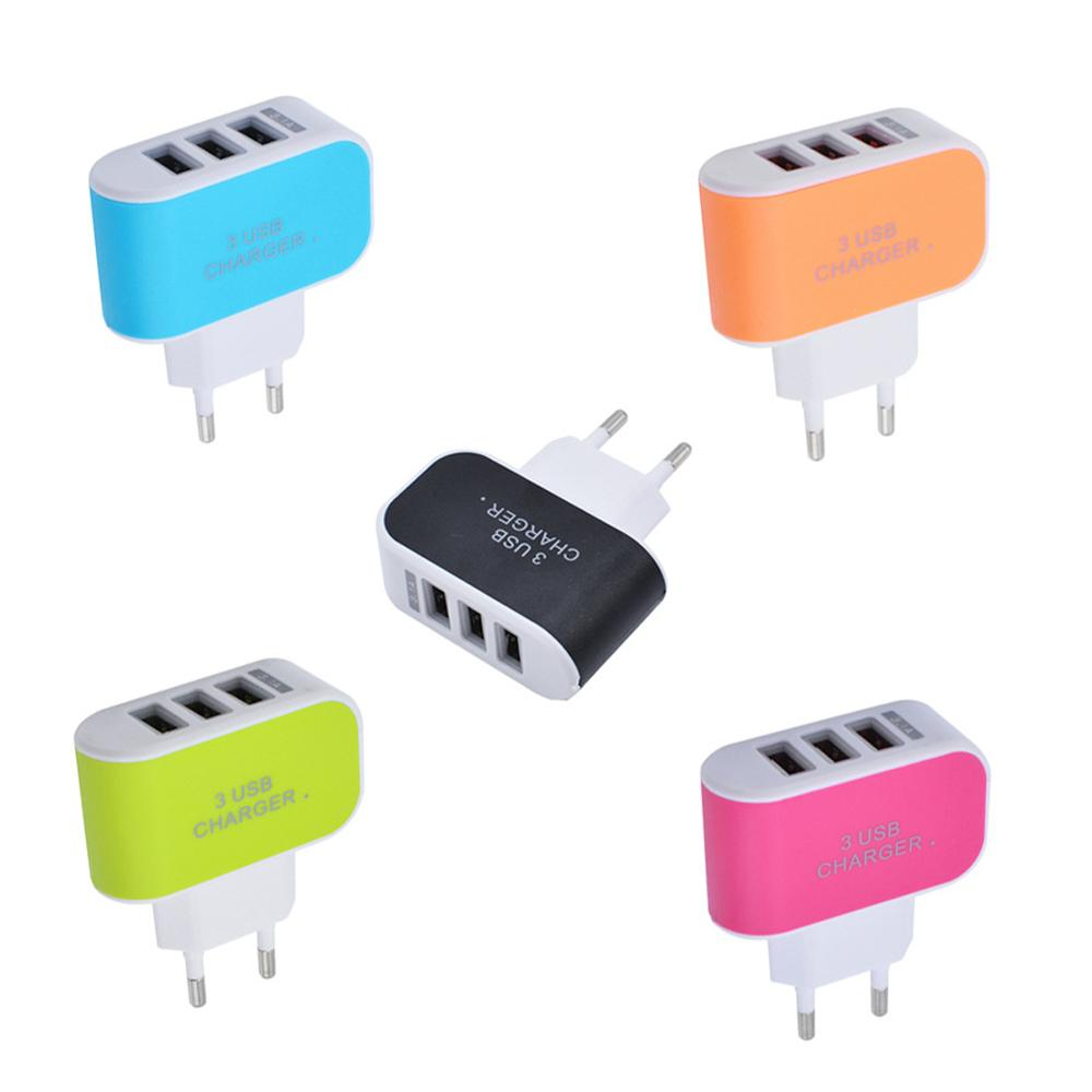 3 Ports 2A Micro USB wall mobile charger,mobile phone charger,automatic mobile phone charger for iPad for iPhone 7 6s 6 5s 5