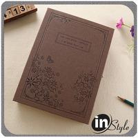 Cheap bulk A4 A5 Fabric cover hardcover dairy notebook