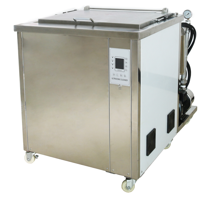 Professional industrial ultrasonic cleaner 25/28/40/80/100KHz 300L for auto parts engine