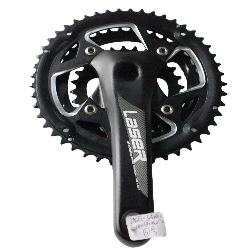 Borita Supply High Quality Aluminum Crank Chainwheel Black Driveline Crankset