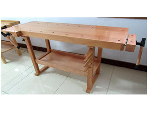 152x62x85 5cm Imported Germany Beech Woodworking Bench For Sale
