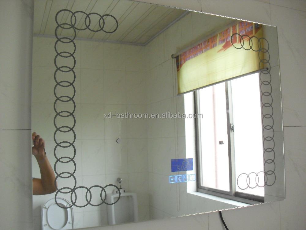 nuevos diseos de bienvenida inteligente altavoz bluetooth luz led tctil espejo del bao