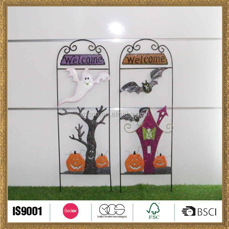 handmade craft halloween ghost faces interior Event & Party decoration