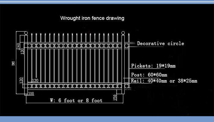 Steel Grating Fence Modern Gates And Fences Design Heavy