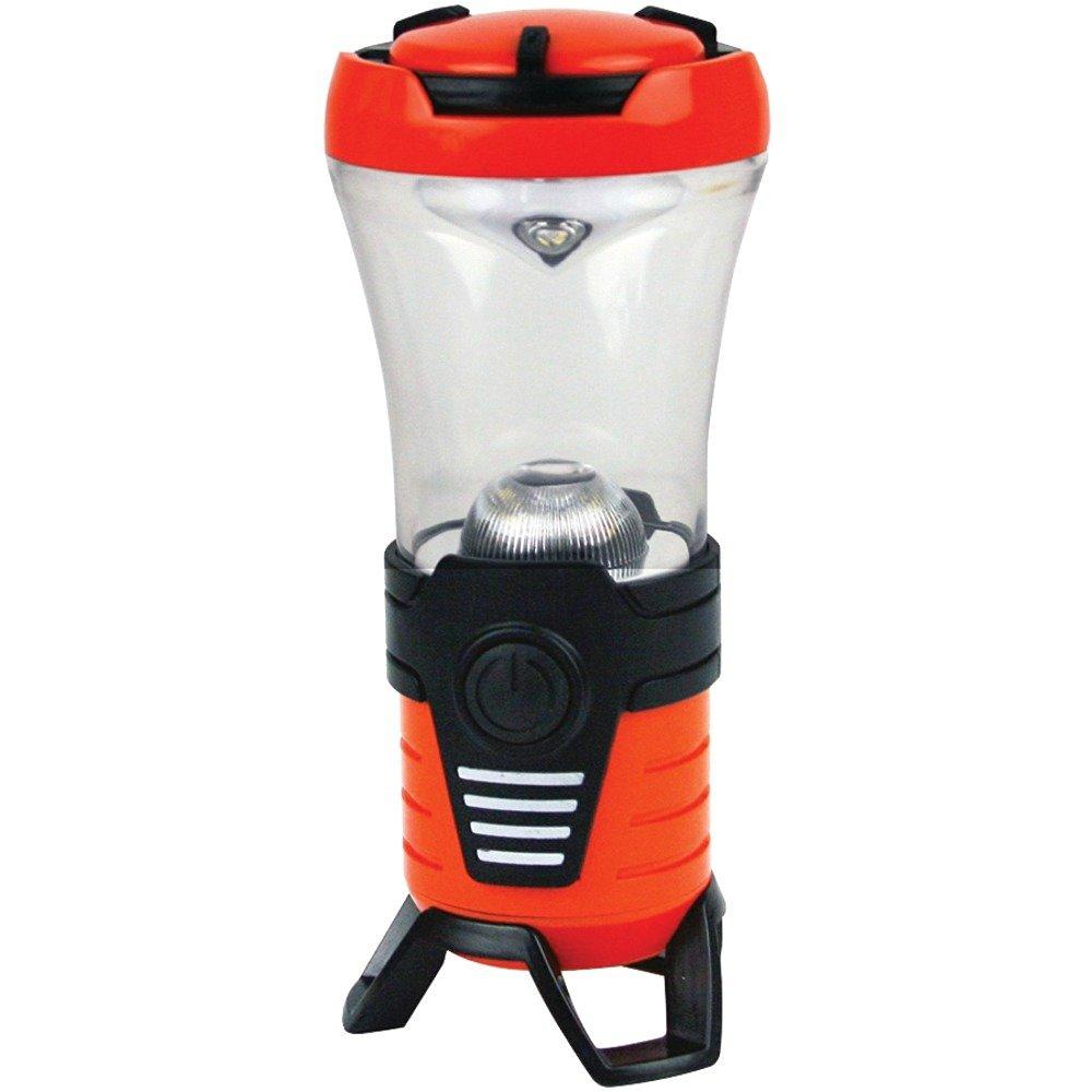 DORCY 41-1087 120-Lumen Rechargeable Bluetooth(R) Lantern & USB Power Bank Camping & hiking