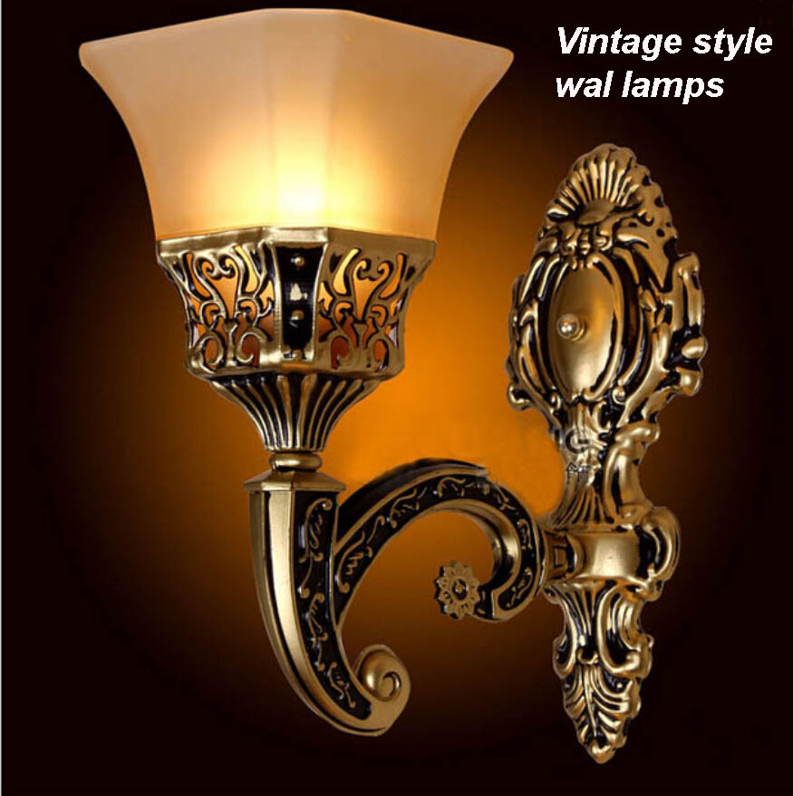 Webetop Vintage Style Sconce Wall Lights E27 Antique Loft Iron Wall Lamp Retro Industrial Porch Aisle Lighting Lamps Luminaria