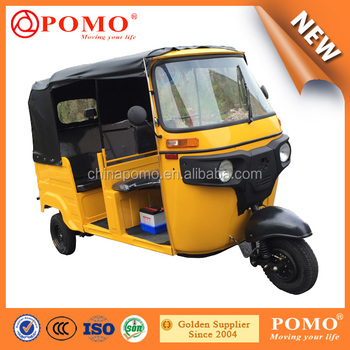 Nigeria Popular High Quality Back Engine 200CC Air Cooled Tuk Passenger 9 Taxi