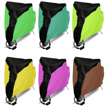 Bike accessories 190T polyester 210D oxford PU rain dust outdoor waterproof custom bicycle cover