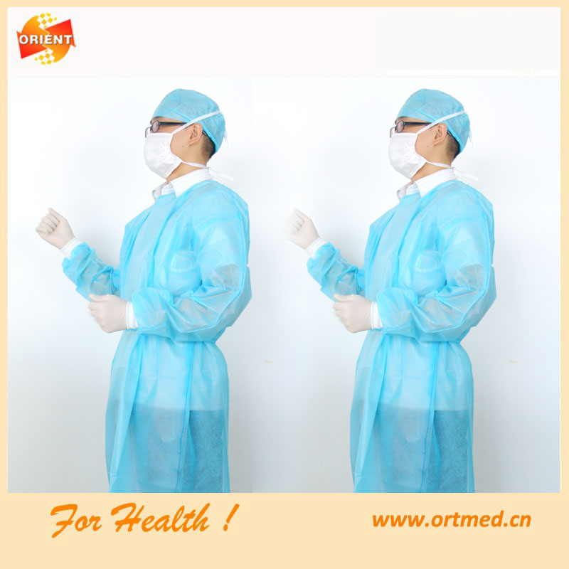 medical supplies wholesale polypropylene coverall suit