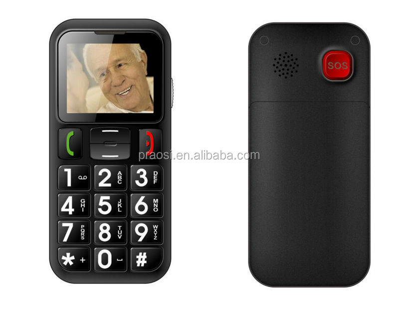 big keypad old man mobile phone with high volume sound