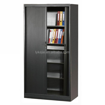 Full Height 4 Layer File Locker 2 Door Storage Cabinet Metal Tool