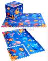 6pcs set Baby Crawling Play Mat Interlocking Foam Pad Blue Ocean Eva Foam Puzzle Carpet Gym