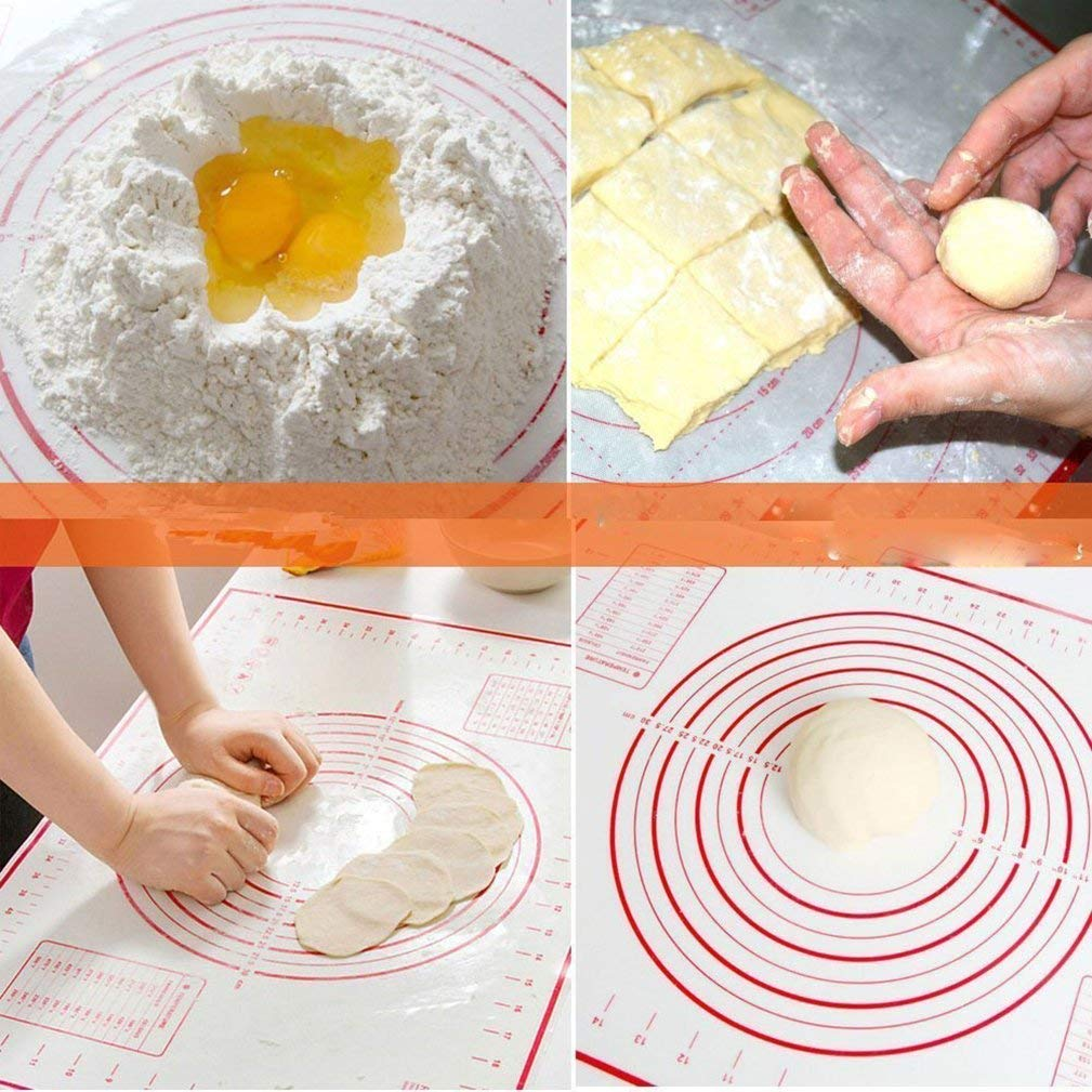 Cunite Fabrikant supply custom non-stick siliconen bakken mat voor oven bakken siliconen mat voor gebak rolling