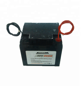 Factory direct 48v electric bike battery pack in plastic box